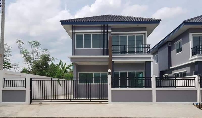 ขายบ้านเดี่ยว 2 ชั้นบ้านดีไซน์ใหม่ สไตล์ Modern รังสิต-คลอง 3