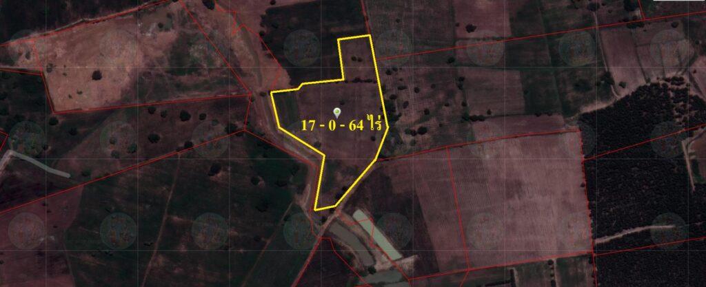 ขายด่วนพื้นที่สีม่วง 17-0-64 ไร่ ราคาไร่ละ 350,000 ติดนิคมอุตสาหกรรมกบินทร์บุรี