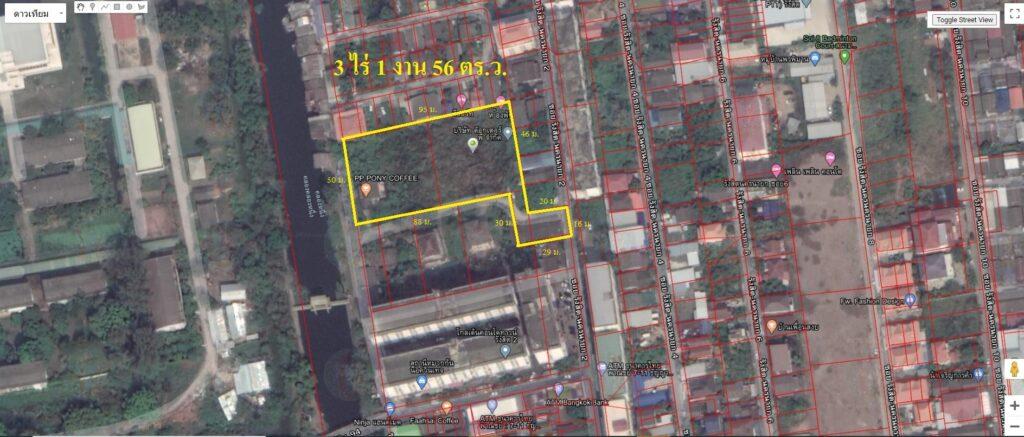 ขายที่ดิน 3ไร่ 156 ตร.ว.พื้นที่สีชมพู