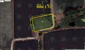 PH888 ขายที่ดินแปลงสวย บางใหญ่ นนทบุรี 2 ไร่ ที่ดินเลียบคลองตาแดง