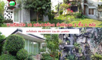 PH685 ขายรีสอร์ทใกล้ตลาดบ้านสิงห์ ราชบุรี พร้อมเปิดกิจการ