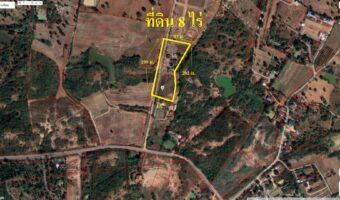 PH893 ขายที่ 8 ไร่ เป็นพื้นที่สีเขียว เอำเภอปากช่อง หน้ากว้าง 198 เมตร ใกล้สถานที่ท่องเที่ยวและรีสอร์ทดัง