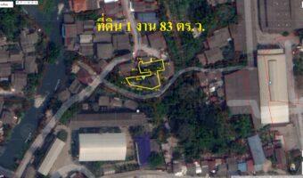 PH918 ขายที่ดินเขตชุมชน พื้นที่สีชมพู หลังโรงเรียนวัดบางคูวัด ปทุมธานี ใกล้โรงงานสุราบางยี่ขัน