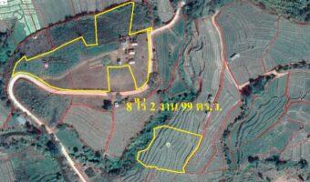 PH753 ขายที่ดิน 8 ไร่ 3 งานที่เป็นโฉนดขาย 10 ล้าน