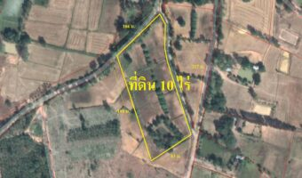 P23 ขายที่ดินโฉนด 10 ไร่ สวยๆ อ.เกษตรสมบูรณ์ จ.ชัยภูมิ ใกล้โรงเรียนบ้านหนองแต้