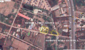 PH998 ขายที่ดินแบ่งขาย 6 แปลง อำเภอชุมแพ พื้นที่สีชมพู