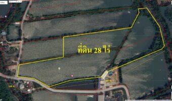 PH959 ขายที่ดิน 28 ไร่ ไร่ละ 3 ล้าน ต.คลองสวน พื้นที่สีเหลือง ใกล้โรงภาพยนตร์ SF เซ็นทรัล มหาชัย