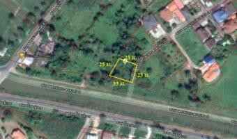 PH506 ขายที่ดินมีโฉนด เขตเทศบาลเมืองนครนายก มีสองแปลงติดกัน