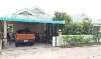 P119 ขายบ้านเดี่ยวชั้นเดียว พร้อมสวน เนื้อที่ 60 ตร.ว ในอำเภอเมืองนครนายก