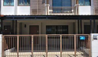 P208 ให้เช่าทาวน์โฮม 2 ชั้น หมู่บ้านพฤกษาวิล 73 พัฒนาการ 38 ใกล้โรงเรียน โรงพยาบาล