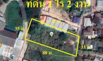 P296 ขายที่ดินแปลงสวย เป็นรูปสีเหลี่ยม ถมแล้วนะคะ 1 ไร่ 2 งาน อำเภอดอยสะเก็ด เชียงใหม่ ใกล้วัดป่าบง