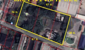 P304 ขายที่ดินพื้นที่สี่เหลี่ยม 1 ไร่ 2 งาน 12 ตร.ว. ซ.ลาซาล 32 พื้นที่สีส้ม ใกล้หมู่บ้านแฮปปี้แลน์วิลล์