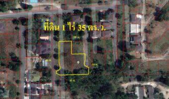 P320 ด่วนค่ะ!!!ขายที่ดินจัดสรรค์ บนเนินเขา 1 ไร่ 35 ตร.ว.อำเภอหาดใหญ่ ผังสีชมพู ทำเลเยี่ยม ผังสีชมพู