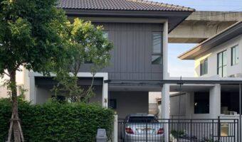 P327 ให้เช่าหรือขายบ้านสวยบ้านเดี่ยวกลางเมือง 2 ชั้นThe Edition พระราม 9 - อ่อนนุช ใกล้สถานีรถไฟฟ้า Airport Link