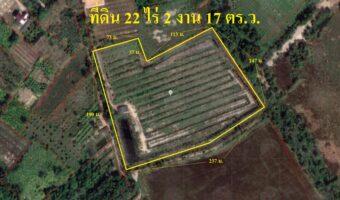 P315 ด่วนค่ะ ซื้อ 1 แถม 2 อย่างนี้มีที่ไหน ขายที่ดิน พร้อมสวน 22 ไร่ 2 งาน 17 ตร.ว. แถมบ้านอีก 1 หลัง อำเภอท่าไหม่ จันทบุรี